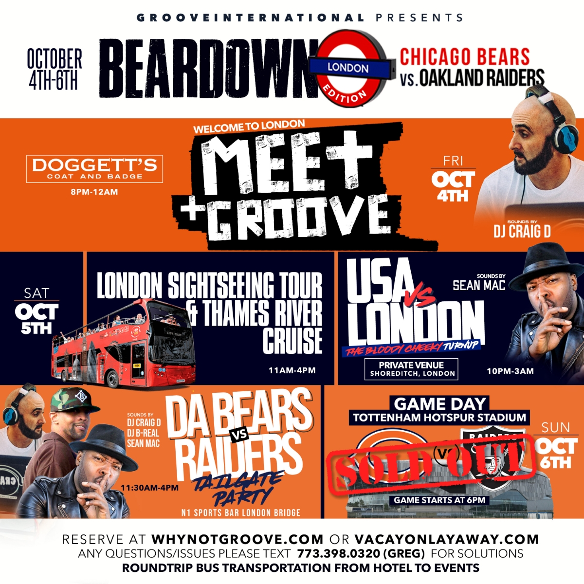 Bear Down: The London Edition
